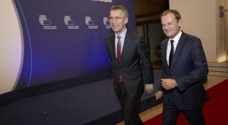 Σκοπιανό | Κοινό ανακοινωθέν Στόλτενμπεργκ-Τουσκ για τη συμφωνία