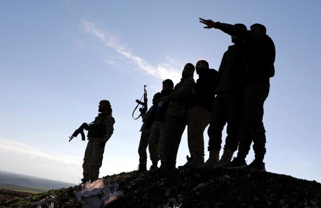 στρατιώτες Συρία