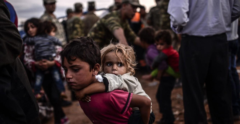ΟΗΕ: Πέντε εκατομμύρια παιδιά εκτοπίστηκαν εξαιτίας του πολέμου στη Συρία