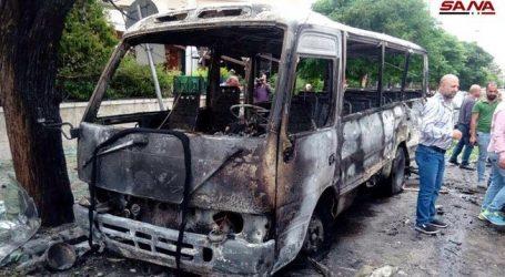 Συρία: Νεκρός και τραυματίες από έκρηξη στη Δαμασκό