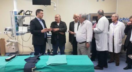 Τη νέα πτέρυγα των χειρουργείων του ΑΧΕΠΑ επιθεώρησε ο Τζιτζικώστας