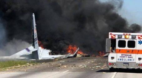 ΗΠΑ: Συνετρίβη στρατιωτικό αεροσκάφος C-130 έξω από το αεροδρόμιο της Τζόρτζια- 5 νεκροί