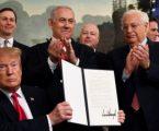 Ο Τραμπ υπέγραψε το διάταγμα που αναγνωρίζει την κυριαρχία του Ισραήλ στα Υψίπεδα του Γκολάν – Η αντίδραση ΟΗΕ