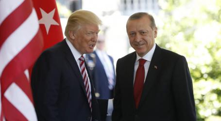 Ερντογάν και Τραμπ συζήτησαν την κατάσταση στη Συρία και τις διμερείς σχέσεις τους