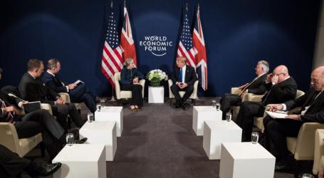 Brexit, Ιράν και Bombardier στο επίκεντρο της συνάντησης Τραμπ- Μέι