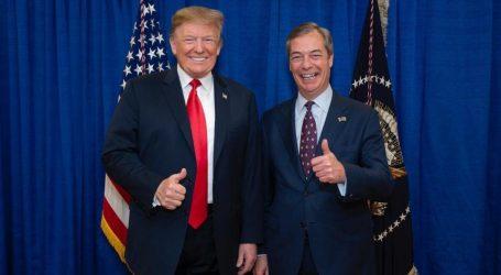 Φαράτζ: Πολύ καλή η συνάντηση με τον Τραμπ – Πιστεύει πραγματικά στο Brexit