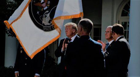Τη δημιουργία της «Διοίκησης Διαστήματος» ανακοίνωσε ο Τραμπ