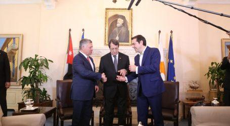Τσίπρας: Πυλώνες σταθερότητας, ειρήνης και ασφάλειας Ελλάδα, Κύπρος και Ιορδανία