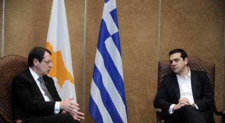 Συνάντηση Τσίπρα-Αναστασιάδη στο περιθώριο της Συνόδου για το Brexit