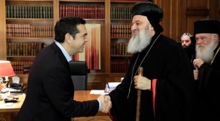 Τσίπρας- Πατριάρχης Αντιοχείας: Για την κατάσταση στη Συρία και την ενότητα των χριστιανικών πληθυσμών