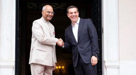 Τσίπρας: Η Ινδία παίζει εξαιρετικά σημαντικό ρόλο στην παγκόσμια σκηνή