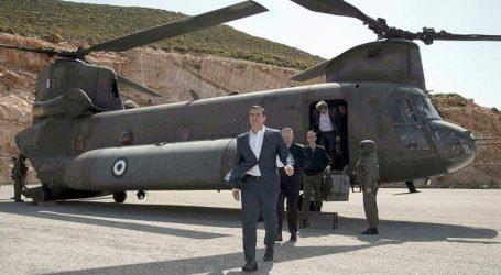 Τουρκικά αεροσκάφη παρενόχλησαν το Σινούκ που μετέφερε τον Τσίπρα