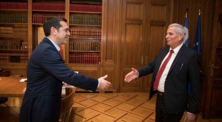 Συνάντηση Τσίπρα με τον Κυπριανού