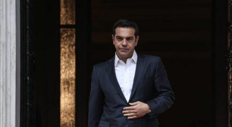 Τσίπρας: Όποιος παραβιάζει τα κυριαρχικά δικαιώματα Ελλάδας-Κύπρου και το διεθνές δίκαιο, θα έχει συνέπειες