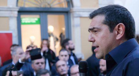 Τσίπρας: Οι ευρωεκλογές, ψήφος εμπιστοσύνης στην 13η σύνταξη (vid)