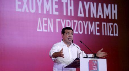 Τσίπρας στον Πειραιά: Ρεύμα νίκης εξαπλώνεται σ' όλη την Ελλάδα (vid)