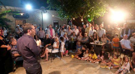 Τσίπρας: Στις εκλογές συγκρούονται δύο διαφορετικά σχέδια για την χώρα (vid)