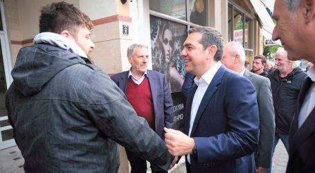Συνεχίζει την περιοδεία του στη Δυτική Μακεδονία ο Τσίπρας