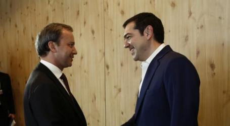 Νταβός | Συνάντηση Τσίπρα με τον αναπληρωτή πρωθυπουργό της Ρωσίας