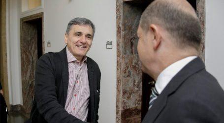 Τριμερής Τσακαλώτου-Σολτς-Λεμέρ στο περιθώριο του Eurogroup