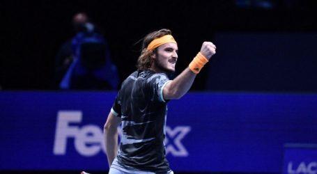 Στον τελικό του ATP Finals ο Τσιτσιπάς κόντρα στον Τιμ