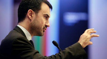 Ο εκπρόσωπος Τύπου του ΣΥΡΙΖΑ, Αλέξης Χαρίτσης