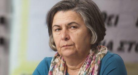 """Χαραλαμπίδου: Το στίγμα μας είναι """"ανυπότακτοι στα μνημόνια και στους δανειστές της χώρας μας"""""""