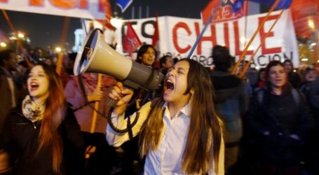 Χιλή: Μαζική διαδήλωση φοιτητών και εκπαιδευτικών