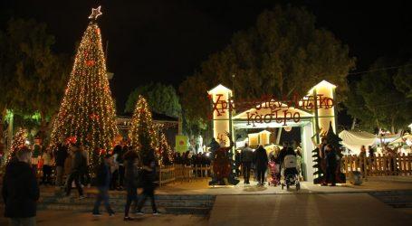 «Χριστουγεννιάτικο Κάστρο» στο κέντρο του Ηρακλείου