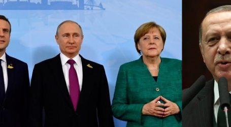 4μερή σύνοδο Ρωσίας-Γερμανίας-Γαλλίας-Τουρκίας για τη Συρία ανακοίνωσε ο Ερντογάν – Δεν επιβεβαιώνουν ως τώρα οι άλλες 3 χώρες