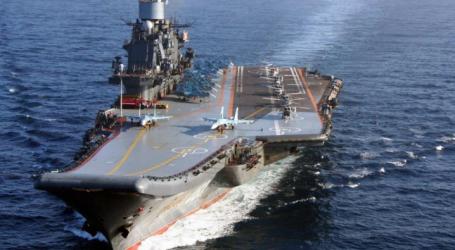 Πυρκαγιά στο ρωσικό αεροπλανοφόρο «Ναύαρχος Κουζνετσόφ»