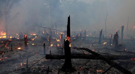 Ενώ ο ΟΗΕ αρχίζει τις συνεδριάσεις για το Κλίμα ο Αμαζόνιος εξακολουθεί να φλέγεται
