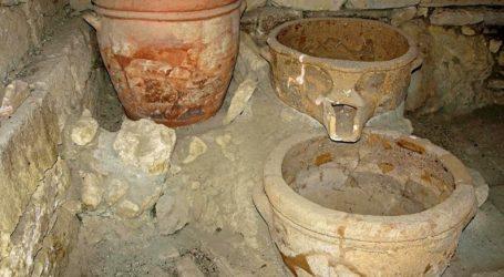 Το αρχαιότερο πατητήρι σταφυλιών στην Ευρώπη, ηλικίας µεγαλύτερης των 4000 ετών, στις Αρχάνες