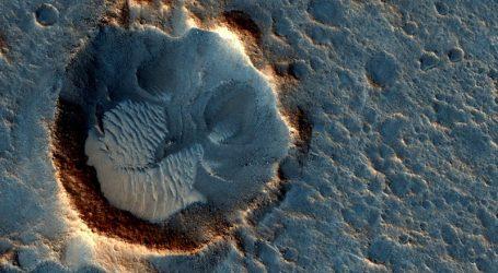 Λίμνη νερού σε υγρή μορφή στον Άρη