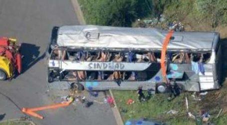Βραζιλία: Τουλάχιστον 10 νεκροί σε ένα δυστύχημα με λεωφορείο