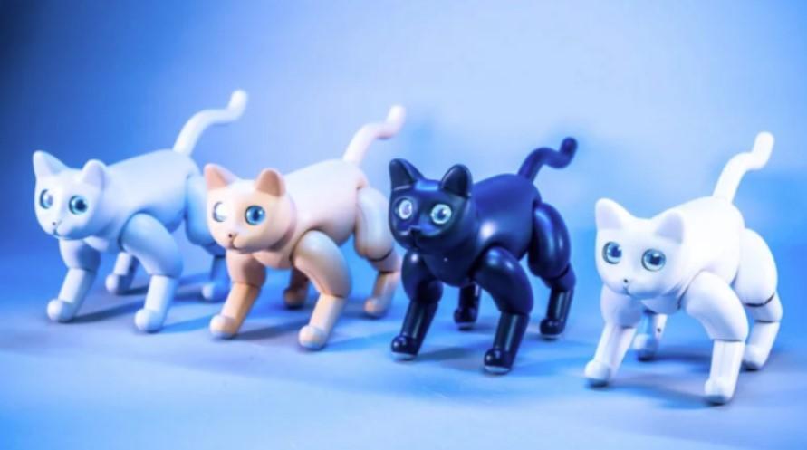 Marscat, η πρώτη… βιονική γατούλα