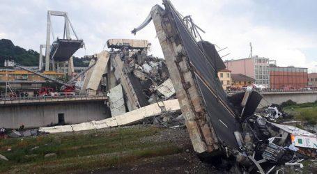 Πέντε άνθρωποι εξακολουθούν και αγνοούνται μετά την κατάρρευση της γέφυρας στη Γένοβα