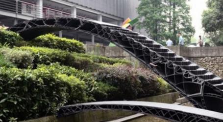 Γέφυρα με τη μέθοδο τρισδιάστατης εκτύπωσης στη Σανγκάη