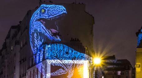 «Δεινόσαυροι» στο Παρίσι από τον Julien Nonnon