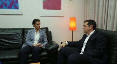 Στην ανάγκη ενίσχυσης της συνεργασίας Ελλάδας – Σερβίας συμφώνησαν οι πρωθυπουργοί των δύο χωρών