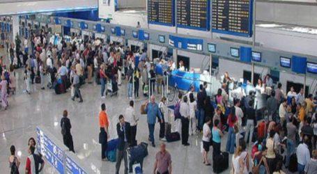 Αυξήθηκε κατά 5,3 % η επιβατική κίνηση στα αεροδρόμια της χώρας το α' εξάμηνο του 2019