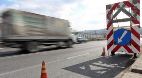 Κυκλοφοριακές ρυθμίσεις μέχρι και σήμερα στην Ολυμπία Οδό