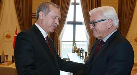Ευχαριστίες και … αιχμές για ρατσισμό από Ερντογάν στη Γερμανία