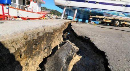 Το υπουργείο Ναυτιλίας και το ΕΜΠ ελέγχουν το λιμάνι της Ζακύνθου μετά τον σεισμό