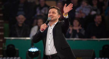 Ουκρανία-Αλλαγή σκηνικού: Νέος πρόεδρος ο κωμικός Βολοντίμιρ Ζελένσκι