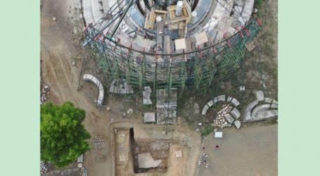 Η ανακάλυψη οικοδομήματος κάτω από τη Θόλο στο Ασκληπιείο Επιδαύρου ρίχνει νέο φως