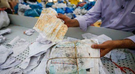 10 τόνοι γραμμάτων θα παραδοθούν από το Ισραήλ στην κατεχόμενη Δυτική Όχθη
