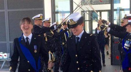 Ιταλία: Δύο γυναίκες, αξιωματικοί του Πολεμικού Ναυτικού, ενώθηκαν με τα δεσμά του γάμου