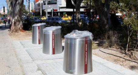 Θεσσαλονίκη: Τοποθετούνται 3.500 νέοι κάδοι απορριμμάτων με …ταυτότητα