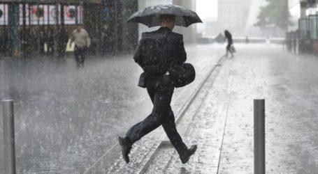Παραμένει βροχερό το σκηνικό του καιρού